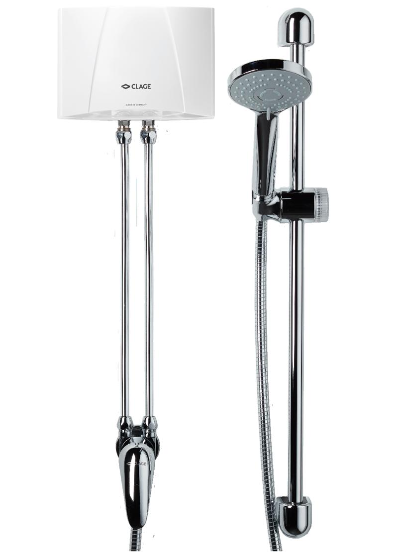 Clage MBX 7 Shower malý prietokový ohrievač vody (6,5 kW, 400 V)