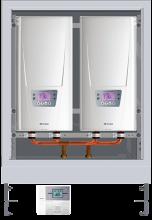 prietokový ohrievač DSX Twin: 2 × 18 bis 27 kW, 400 V
