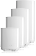 prietokový ohrievač SX 50: 0,75 od. 4,5 kW, 230 od. 400 V